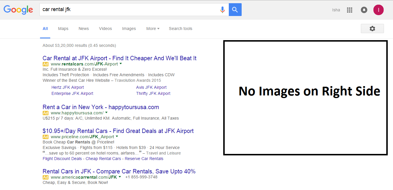 Google Confirms: 4 AdWords Ads on Top & None on Side Bar